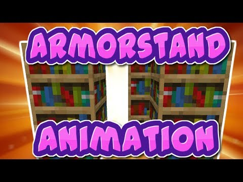 Armorstand Animations In Minecraft