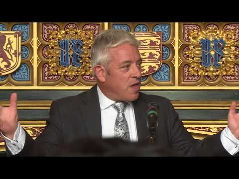 House of Commons Speaker John Bercow addresses the World Jewish Congress