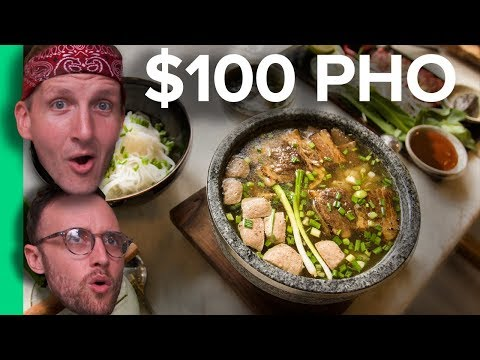 $2 PHO vs $100 PHO - Northern VS Southern Pho! (C贸 ph峄� 膽峄� Ti岷縩g Vi峄噒)