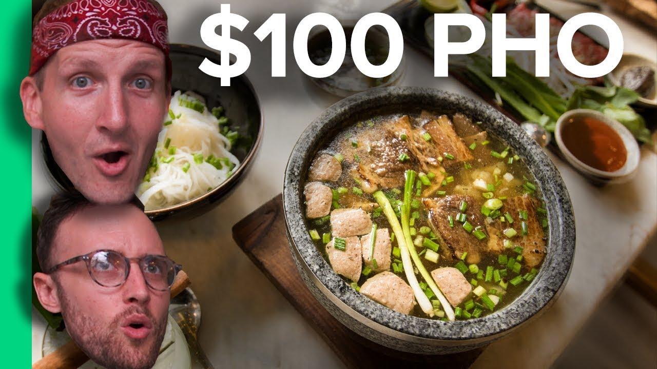 $2 PHO vs $100 PHO – Northern VS Southern Pho! (Có phụ đề Tiếng Việt)