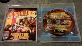Borderlands: GOTY Edition Unboxing PS3 *HD*