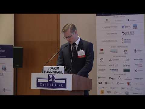 2020 11th Annual Capital Link Greek Shipping Forum - REVIEW OF THE SHIPPING MARKETS