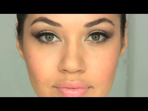 Peachy Nude Makeup Tutorial | Eman