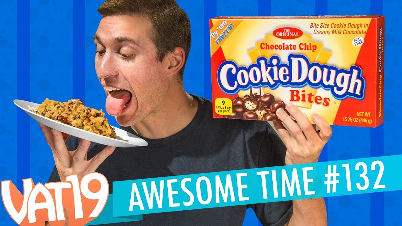 Giant Cookie Dough Bites, Pancake Jelly Beans, Stupid Science | A.T. #132