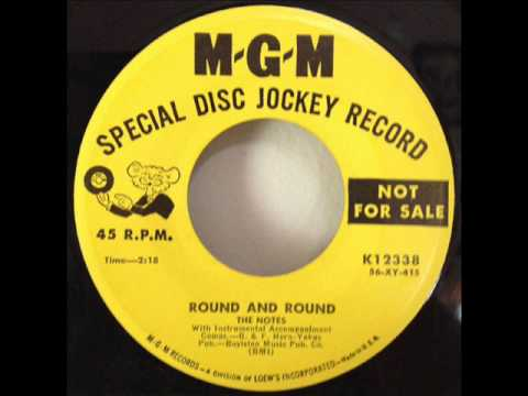 Notes - Round And Round (MGM 12338) 1956