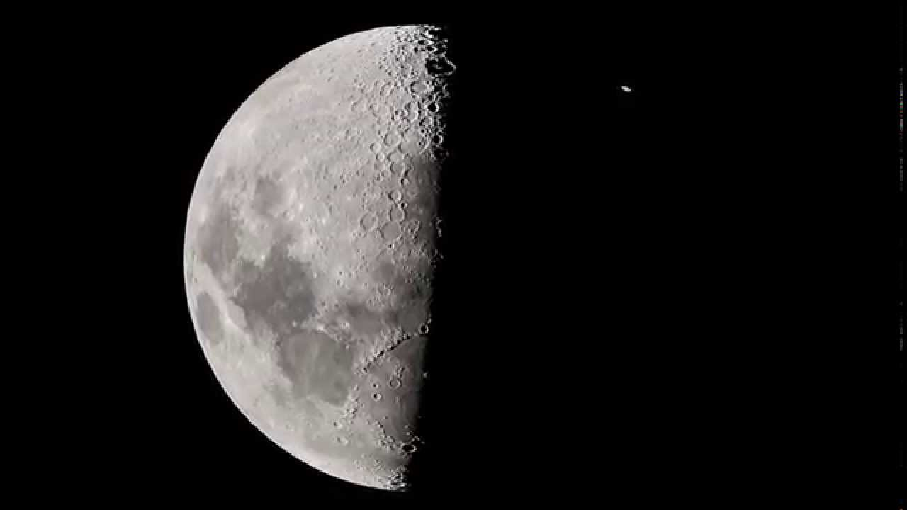 moon occultation of saturn