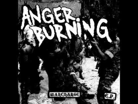 ANGER BURNING - Just Say No