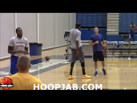 Steve Nash teaching Kevin Durant different post-move techniques