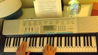 How to Play ~ Sing -  ft. the Military Wives ~ Gary Barlow & Commonwealth Band ~ LetterNotePlayer ©