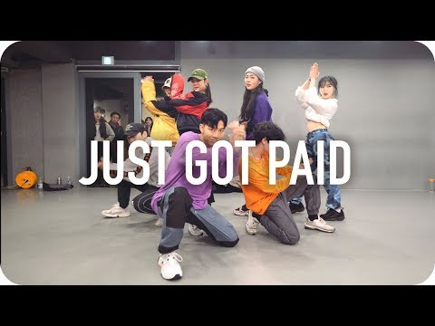 Just Got Paid - Sigala, Ella Eyre, Meghan Trainor ft. French Montana / Jinwoo Yoon Choreography