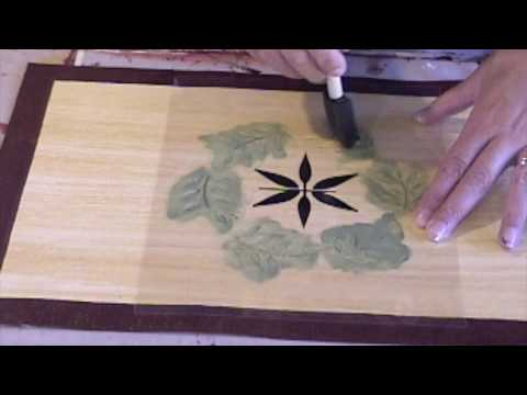 How to Stencil on Canvas