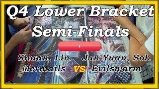 Yu Gi Oh! Active Cardz Series 2014 Season 1 Q4 Lower Bracket Semi Finals Shaun vs Jun Yuan Match 1