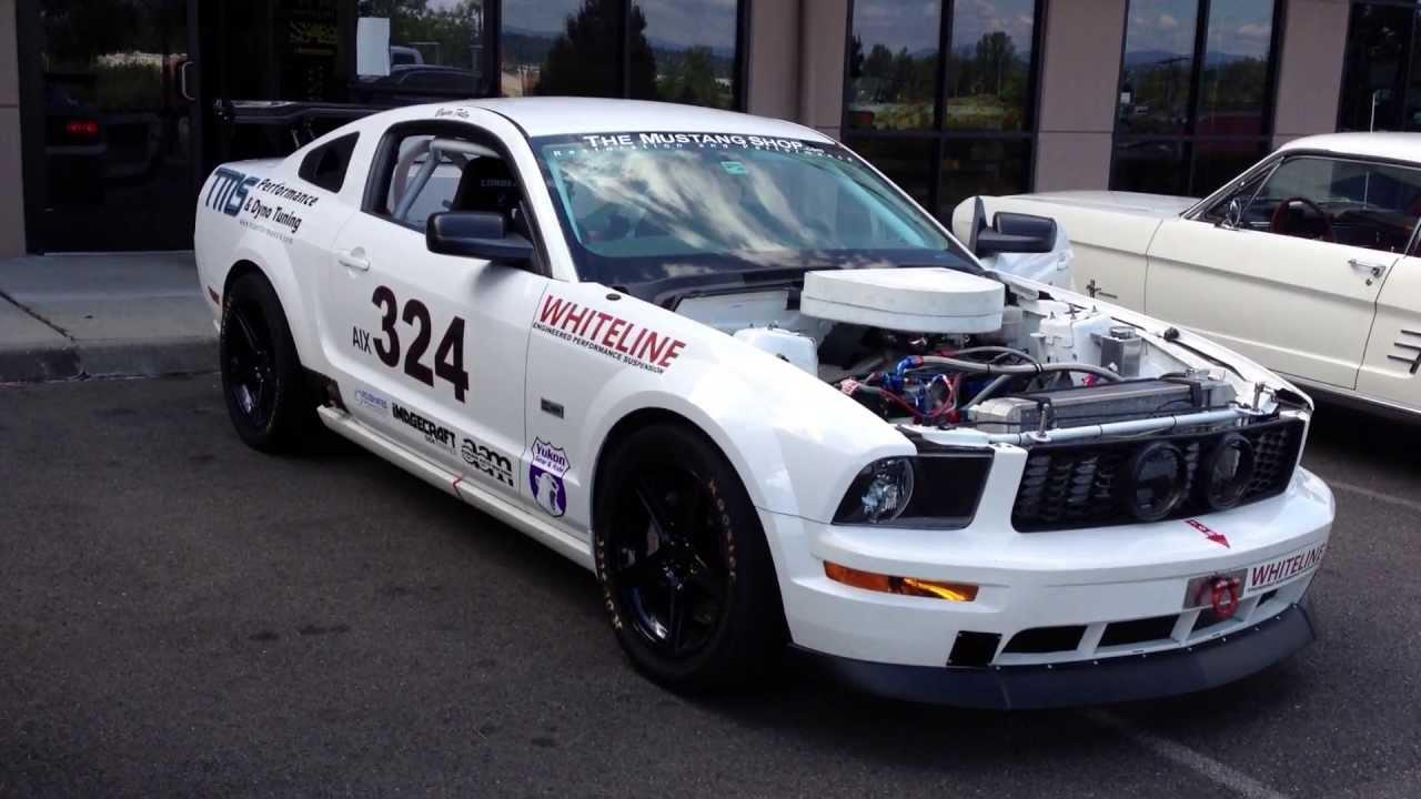 Nascar Mustang Race Car