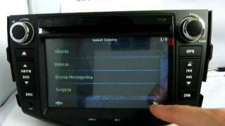 toyota rav4 dvd player rav4 gps navigation with igo maps bluetooth ipod