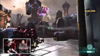 transformers fall of cybertron e3 2012 gameplay demo ign live
