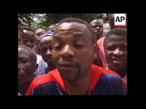 ZAIRE: KINSHASA: LOCALS EXPRESS SUPPORT FOR REBEL LEADER KABILA