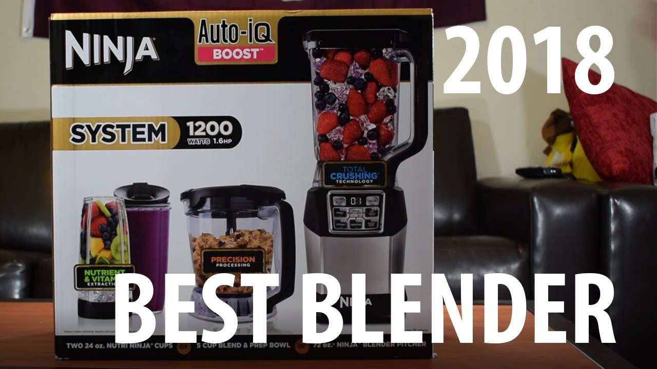 Ninja 1200 Blender with Auto IQ Review + Unboxing