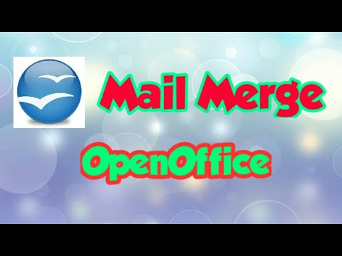 Open Office Org  Mail and merge feature {F.I.T 9} Chapter 13