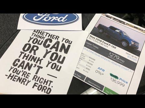 NEW 2018 FORD F150 XLT Negotiation Tips. (Lease Deals, Discounts, APR) (MA Car Broker)