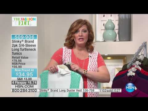 HSN | Slinky Brand Fashions 03.25.2017 - 02 PM