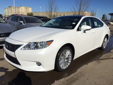 new white on parchment 2015 lexus es 350 executive. Black Bedroom Furniture Sets. Home Design Ideas