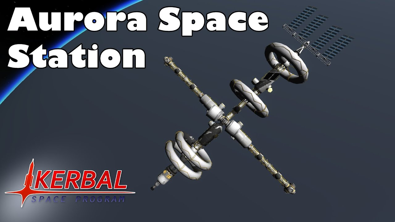 Kerbal Space Program - Laythe space station - YouTube