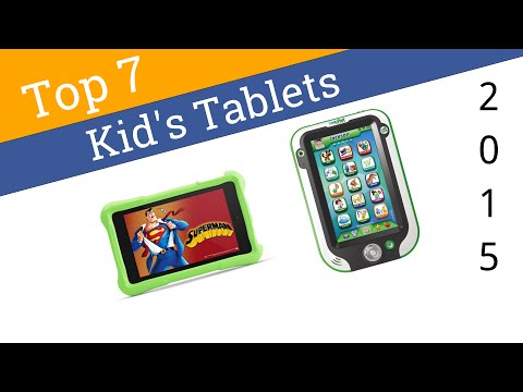 7 Best Kid's Tablets 2015