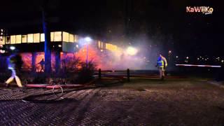 Uitslaande brand bij kantoorpand Biesbosch Amstelveen