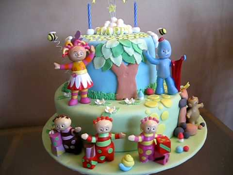 In The Night Garden Cake for Lachlan YouTube