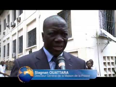 Media: Clôture du 4è salon des médias à Abidjan