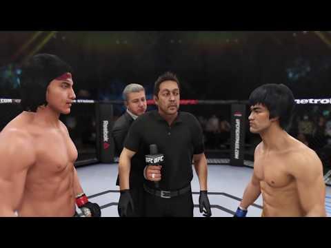 Liu Kang vs. Bruce Lee (EA Sports UFC 3) - Rematch