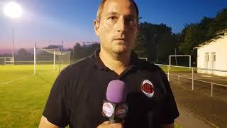 Réaction de l'entraîneur de Lessac après sa qualification en finale