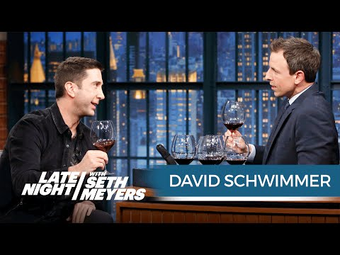 Wine Tasting with David Schwimmer