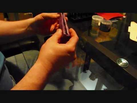 making a universal pen blank mold with easy mold silicone putty wmv
