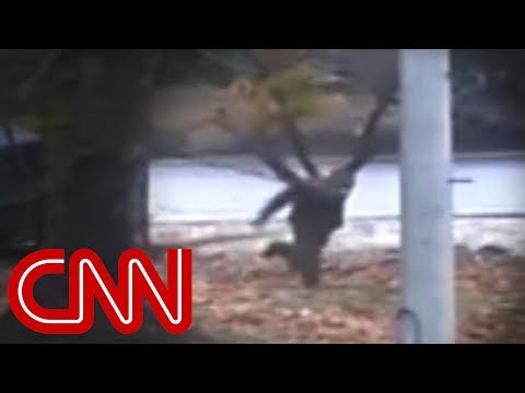 North Korea defector's escape caught on camera