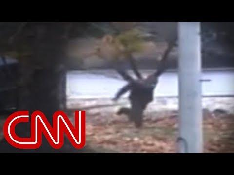 North Korea defector's escape caught on camera