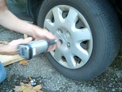 "Harbor Freight 1/2"" Air Impact Wrench #95310 Lug Nut Test"