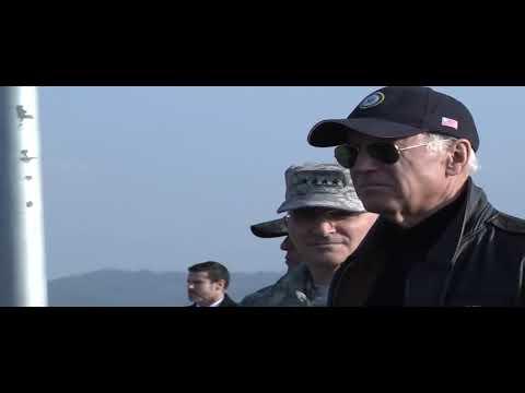 Vice President Joe Biden visits Demilitarized Zone in South Korea