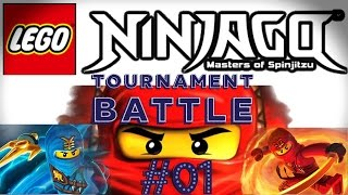 Lego Ninjago Tournament. Master Chen's Palace. Part 1