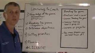 Soccer Coaching, Learning to Coach, Pt.1