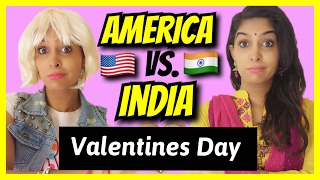 American Girls VS. Indian Girls | Valentines Day | Part 2 | Rickshawali