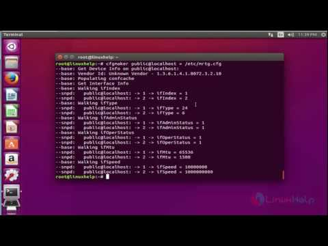 How to Install MRTG in Ubuntu