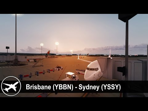 [P3D v4.2] Brisbane (YBBN) ✈ Sydney (YSSY)   PMDG 737-800   Virgin Australia   VOZ992