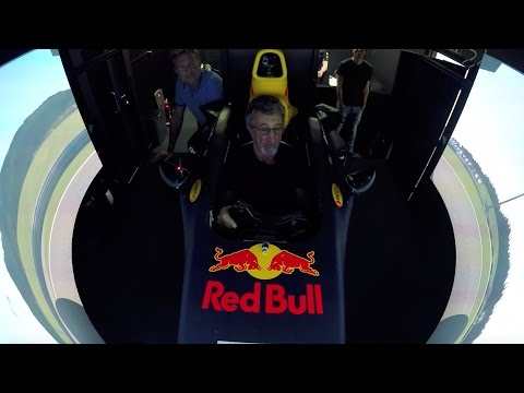 The Red Bull Racing Simulator Challenge: Eddie Jordan