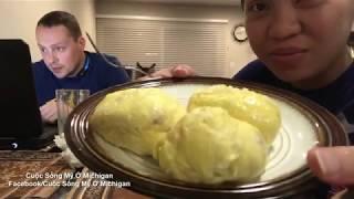 Cuộc Sống Mỹ Vlog 63 ll Mua Đồ Về Nhà Ăn Vặt Buổi Tối Cho Vui.