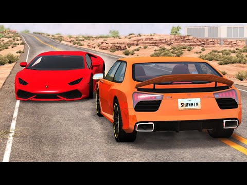 Luxury & Sport Car Crashes Compilation #15 - BeamNG Drive