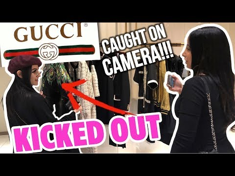 GUCCI KICKED US OUT!! ft SSSNIPERWOLF   Mar
