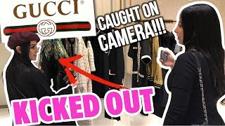 GUCCI KICKED US OUT!! ft SSSNIPERWOLF | Mar