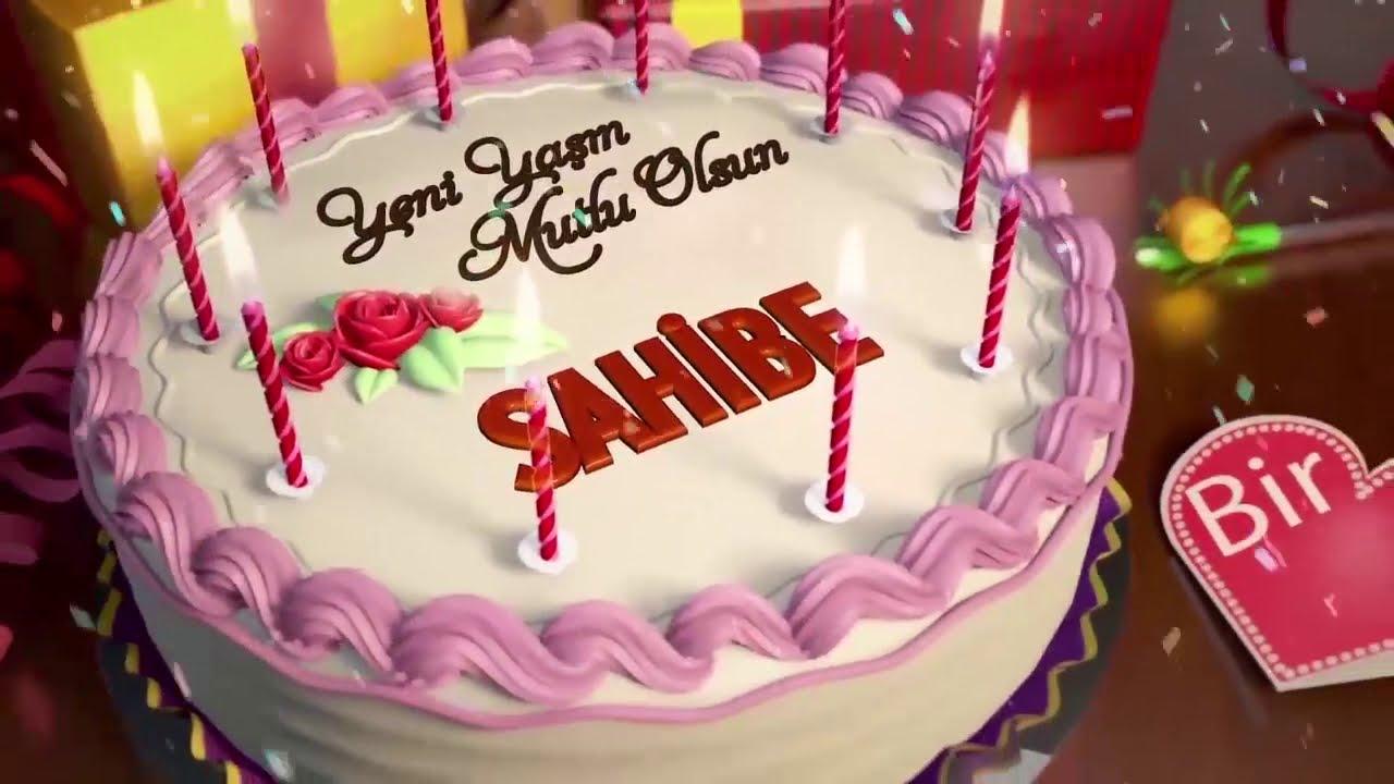 İyi ki doğdun SAHİBE - İsme Özel Doğum Günü Şarkısı