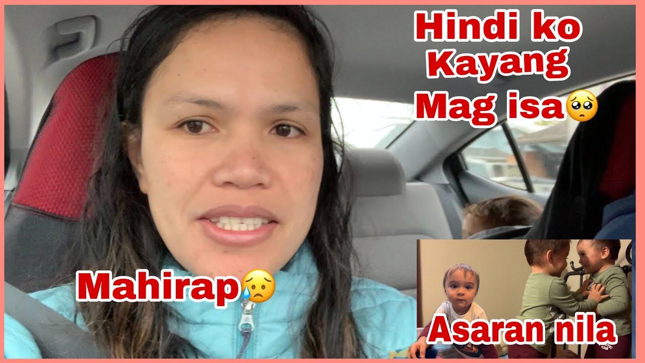 HINDI KO KAYANG MAG ISA   MAGALING NG MAG ASARAN ANG KAMBAL   FILIPINA AMERICAN FAMILY